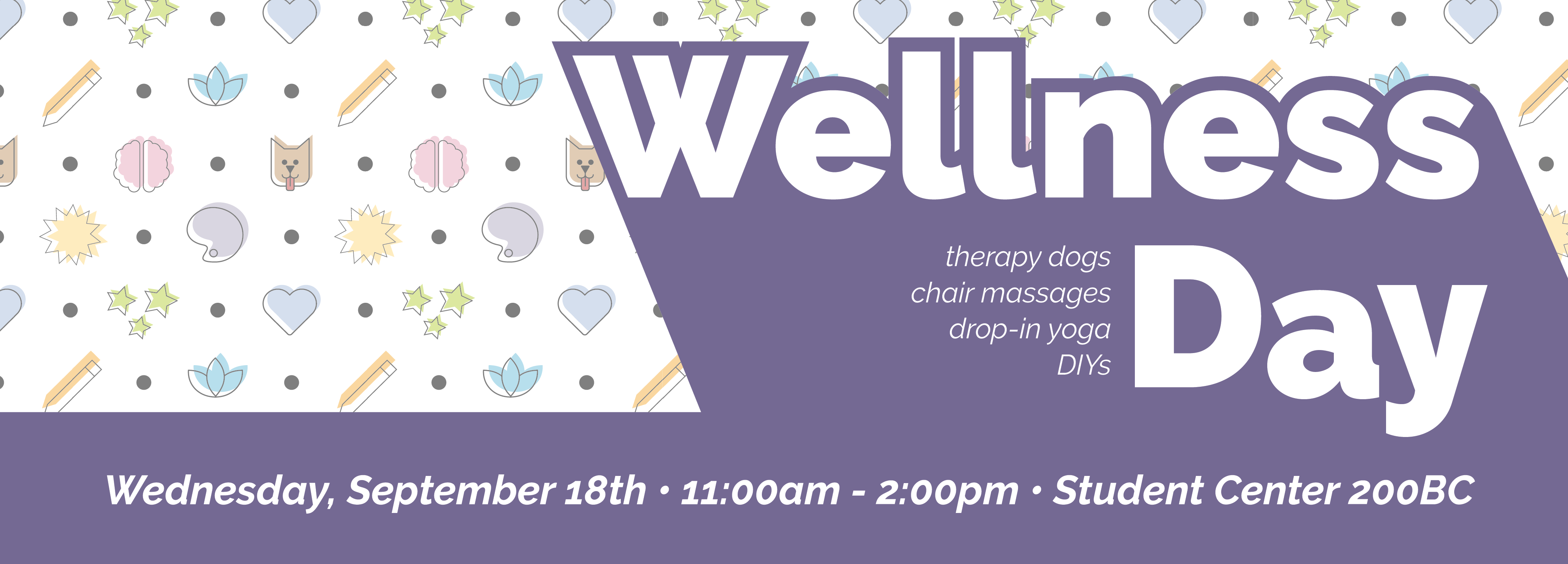 """Graphic reads """"Wellness Day"""""""
